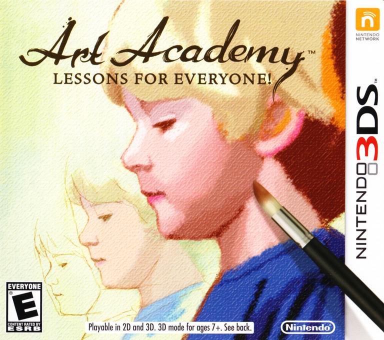 Art Academy - Lessons for Everyone 3DS coverHQ (AACE)