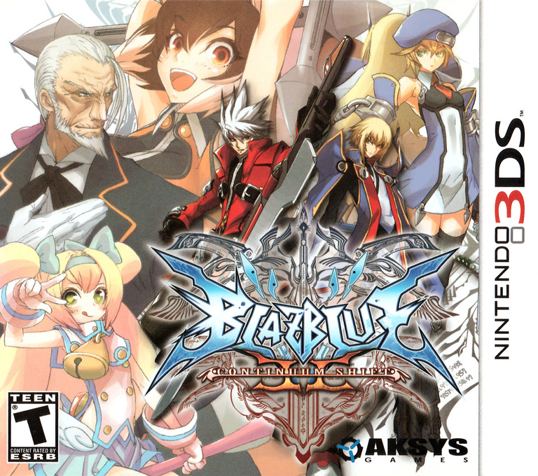 BlazBlue - Continuum Shift II 3DS coverHQ (ABLZ)