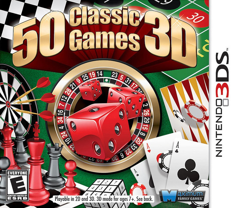 50 Classic Games 3D 3DS coverHQ (AC5E)