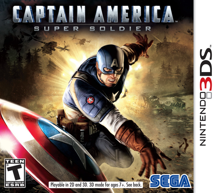 Captain America - Super Soldier 3DS coverHQ (ACAE)
