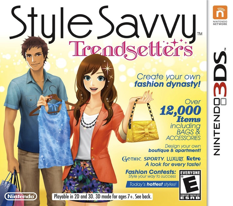 Style Savvy - Trendsetters 3DS coverHQ (ACLE)