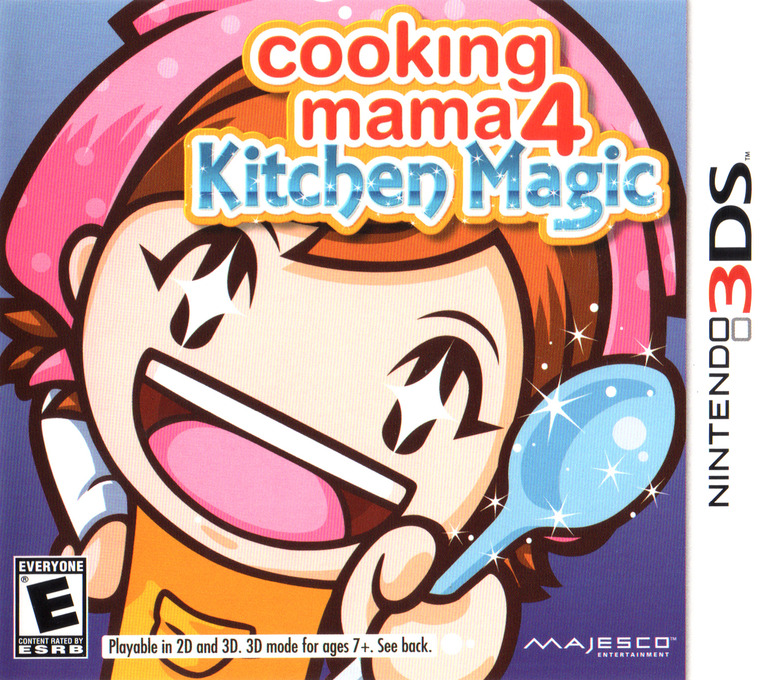 Cooking Mama 4 - Kitchen Magic 3DS coverHQ (ACQE)