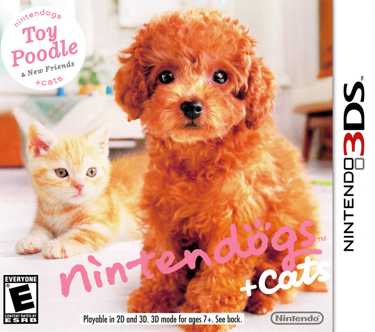 Nintendogs + Cats - Toy Poodle & New Friends 3DS coverHQ (ADCE)