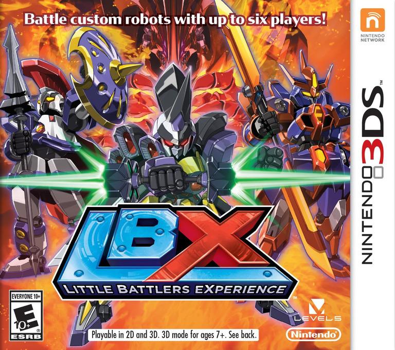 LBX - Little Battlers eXperience 3DS coverHQ (ADNE)