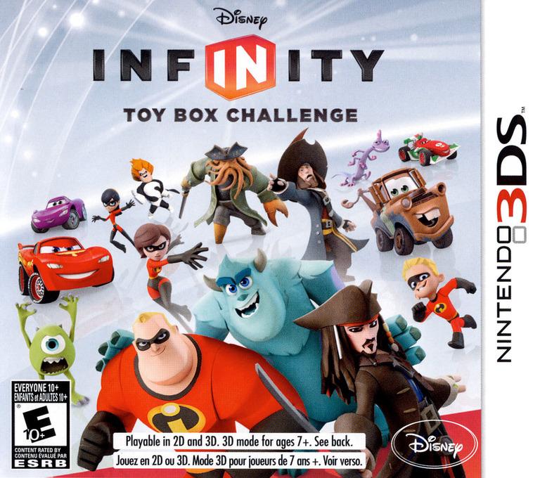 Disney Infinity - Toy Box Challenge 3DS coverHQ (ADYE)