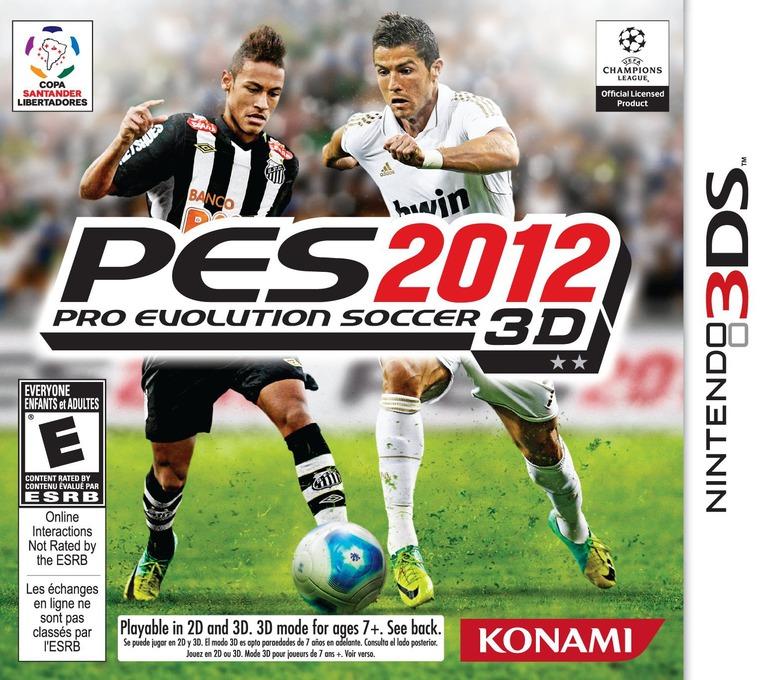 Pro Evolution Soccer 2012 3D 3DS coverHQ (AE2E)