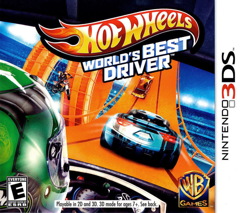 Hot Wheels - World's Best Driver 3DS coverHQ (AEAE)