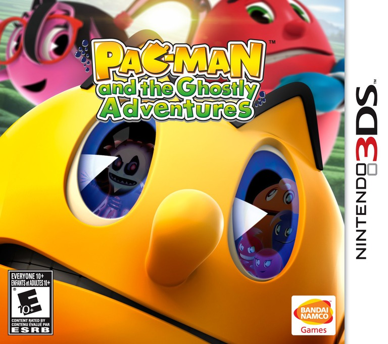 Pac-Man and the Ghostly Adventures 3DS coverHQ (AEJE)