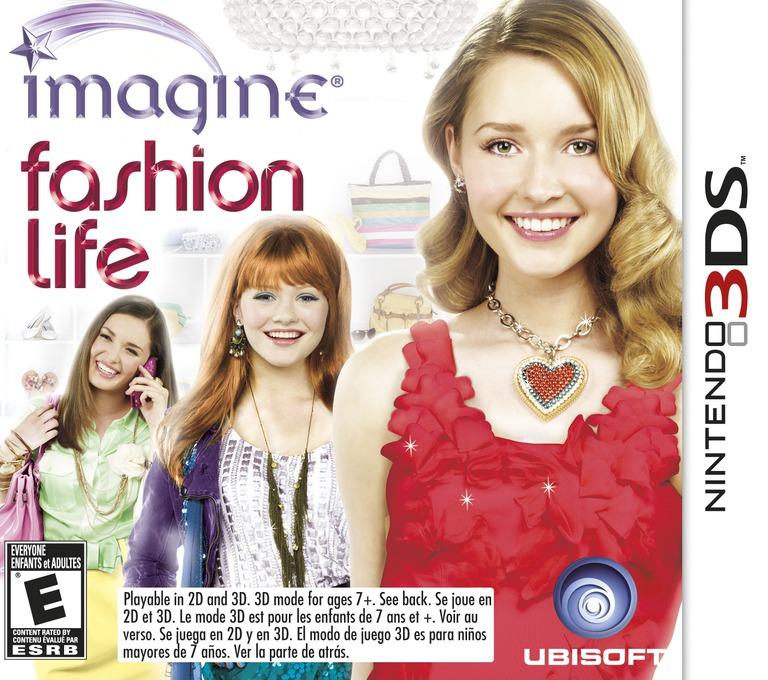 Imagine - Fashion Life 3DS coverHQ (AF3E)