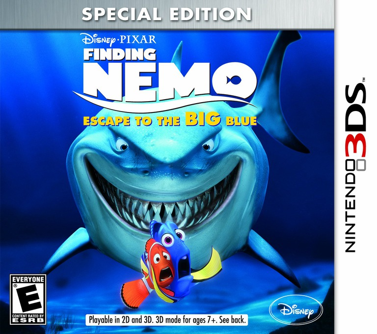 Finding Nemo - Escape to the Big Blue - Special Edition 3DS coverHQ (AF7E)