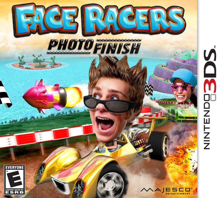 Face Racers - Photo Finish 3DS coverHQ (AFCE)
