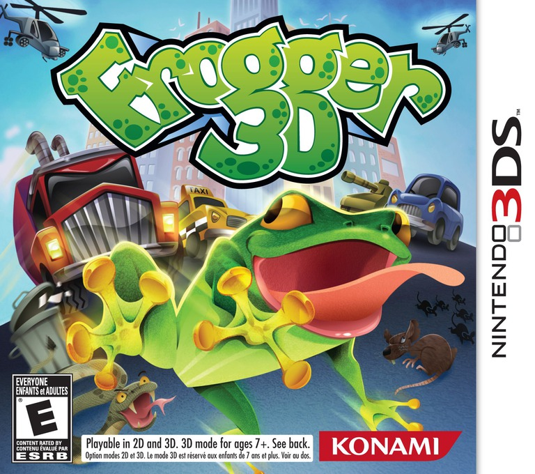 Frogger 3D 3DS coverHQ (AFRE)