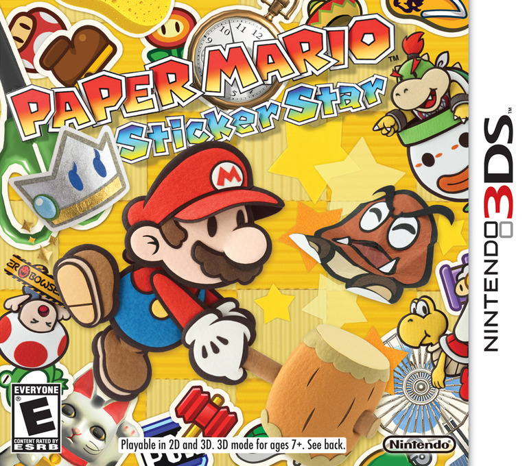 Paper Mario - Sticker Star 3DS coverHQ (AG5E)
