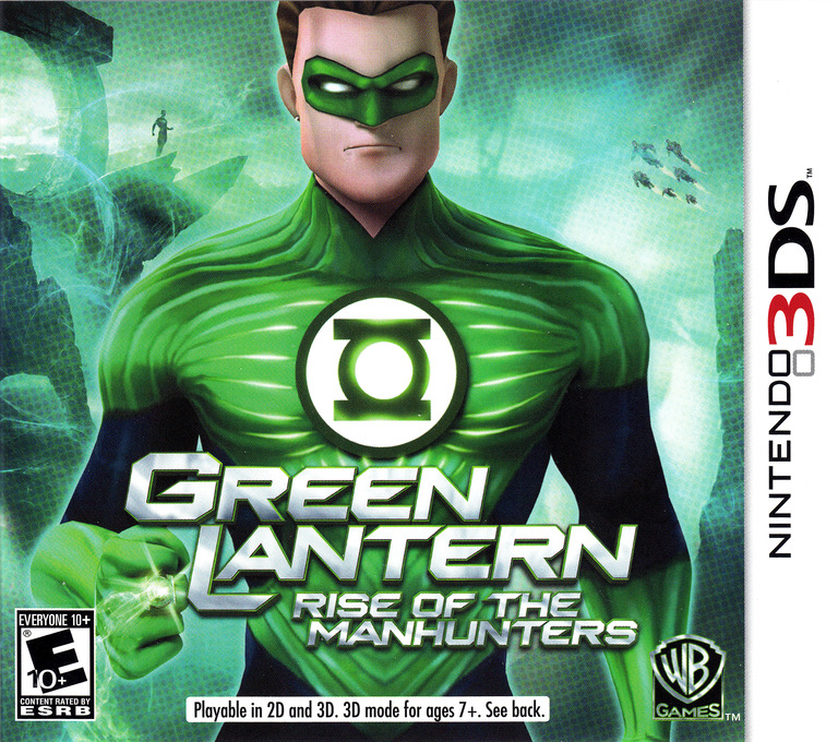 Green Lantern - Rise of the Manhunters 3DS coverHQ (AGLE)
