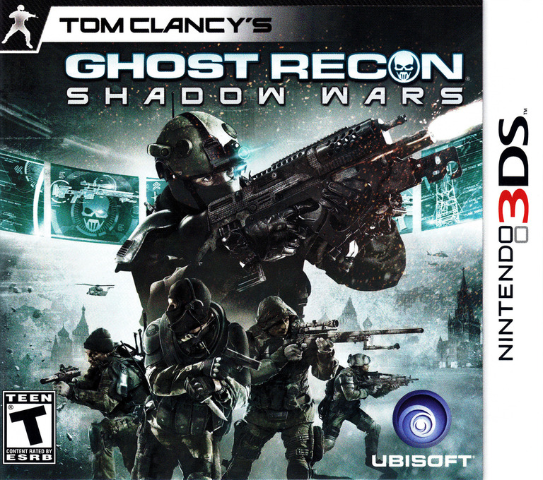 Tom Clancy's Ghost Recon - Shadow Wars 3DS coverHQ (AGRE)