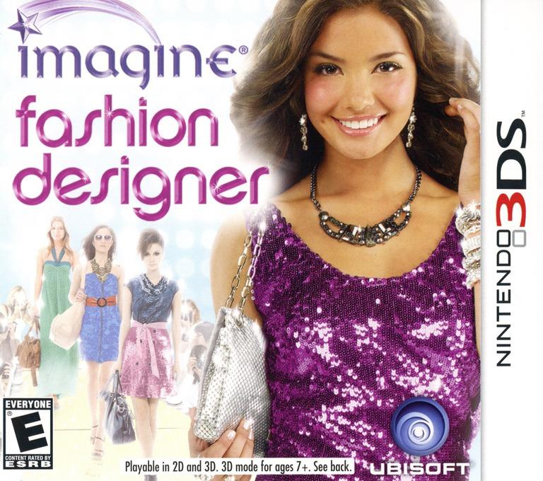 Imagine - Fashion Designer 3DS coverHQ (AGUE)