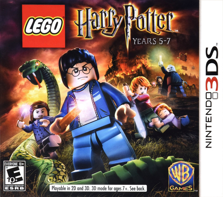 LEGO Harry Potter - Years 5-7 3DS coverHQ (AHPE)