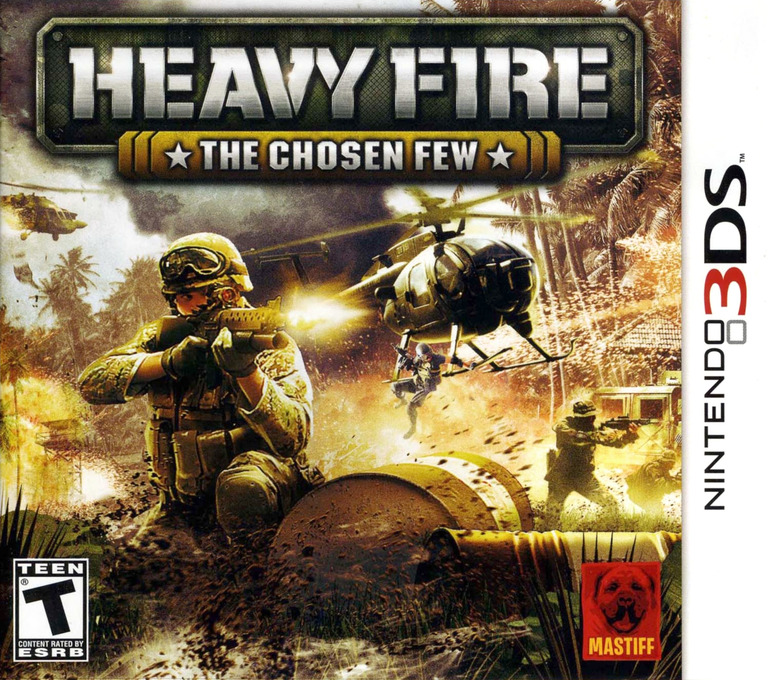 Heavy Fire - The Chosen Few 3DS coverHQ (AHVE)
