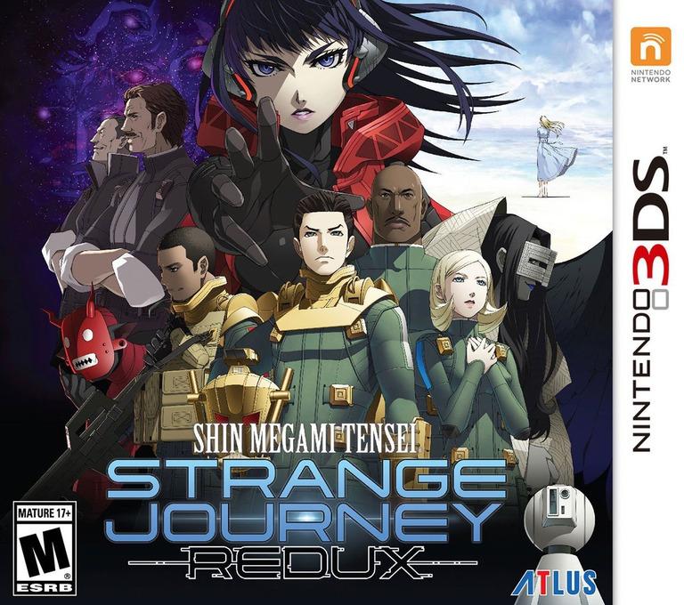 Shin Megami Tensei: Strange Journey Redux 3DS coverHQ (AJ9E)