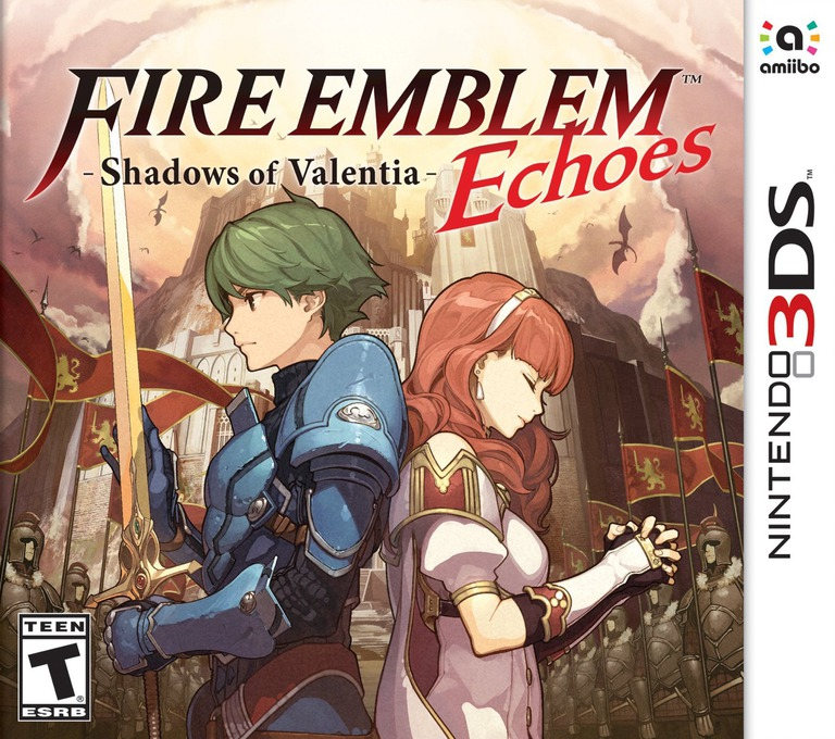 Fire Emblem Echoes: Shadows of Valentia 3DS coverHQ (AJJE)