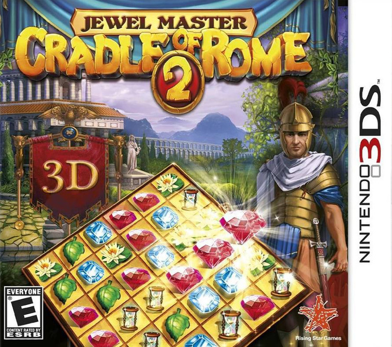 Jewel Master - Cradle of Rome 2 3DS coverHQ (AJLE)