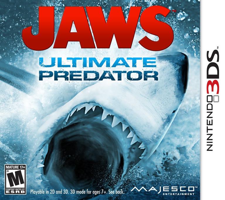 Jaws - Ultimate Predator 3DS coverHQ (AJWE)