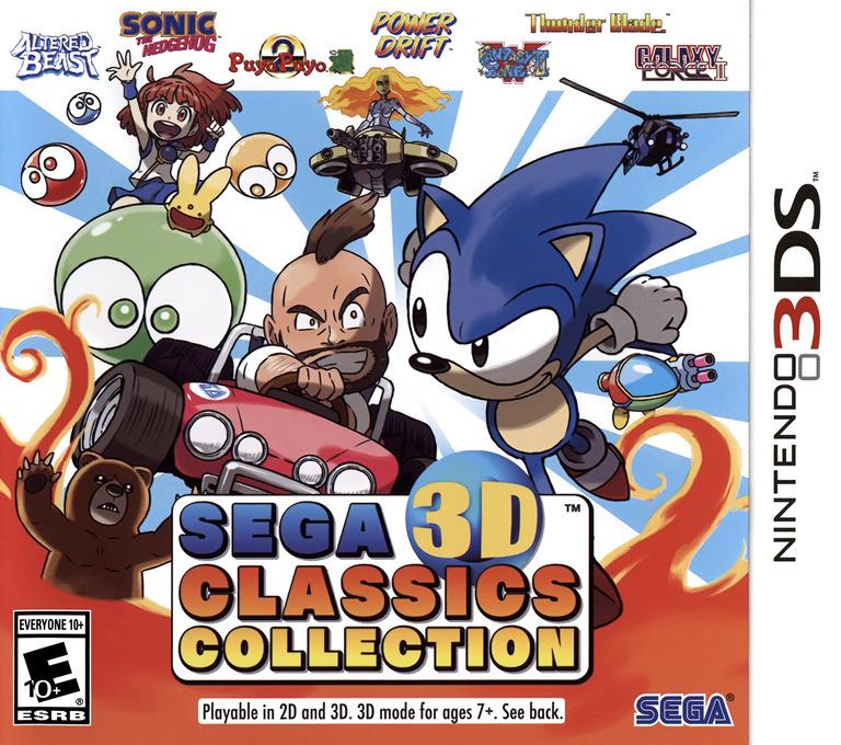 Sega 3D Classics Collection 3DS coverHQ (AK3E)