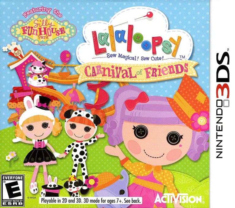 Lalaloopsy - Carnival of Friends 3DS coverHQ (ALYE)