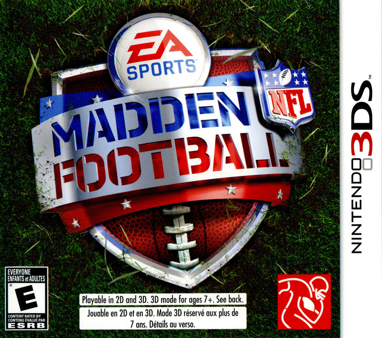 Madden NFL Football 3DS coverHQ (AMDE)
