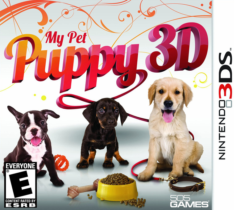 My Pet Puppy 3D 3DS coverHQ (AMYE)