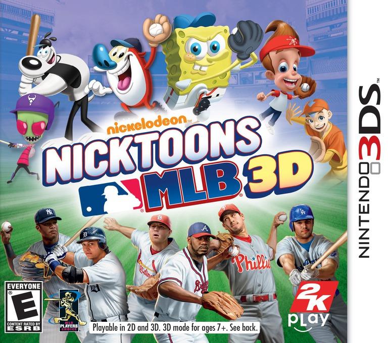 Nicktoons MLB 3D 3DS coverHQ (ANKE)