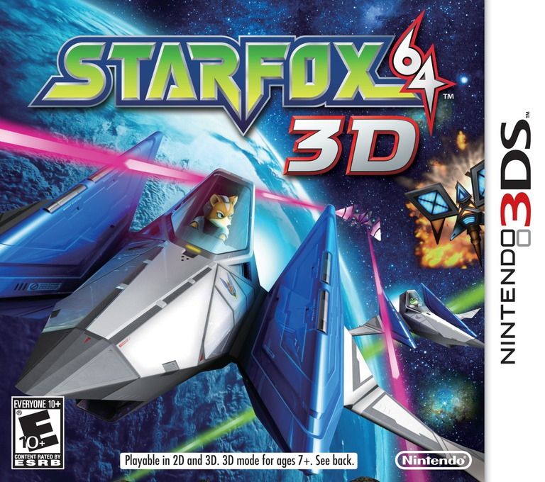 Star Fox 64 3D 3DS coverHQ (ANRE)