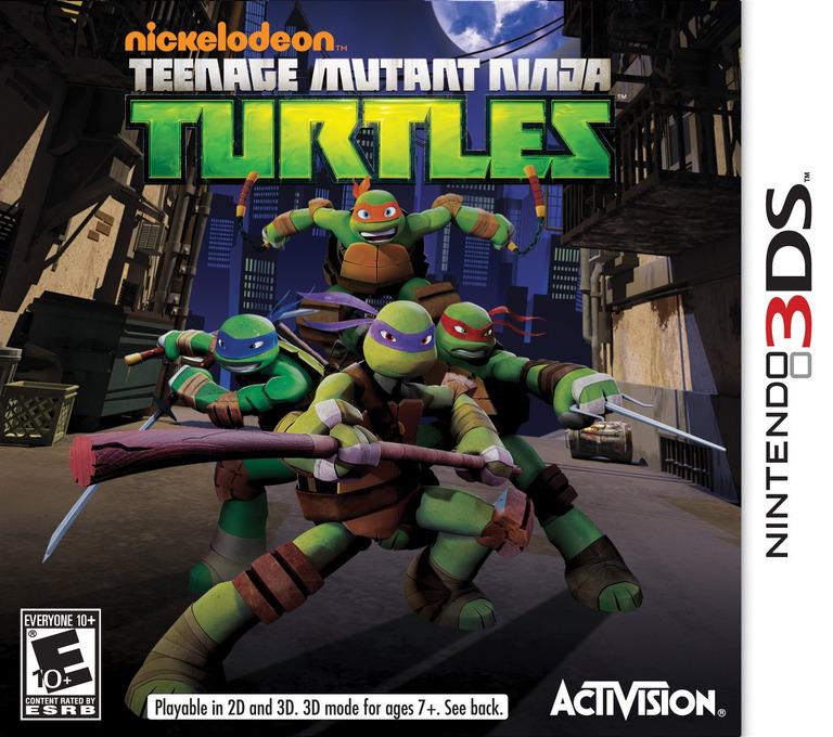 Nickelodeon Teenage Mutant Ninja Turtles 3DS coverHQ (ANYE)
