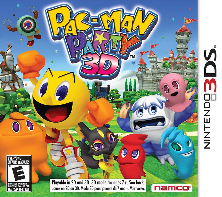 Pac-Man Party 3D 3DS coverHQ (AP9E)
