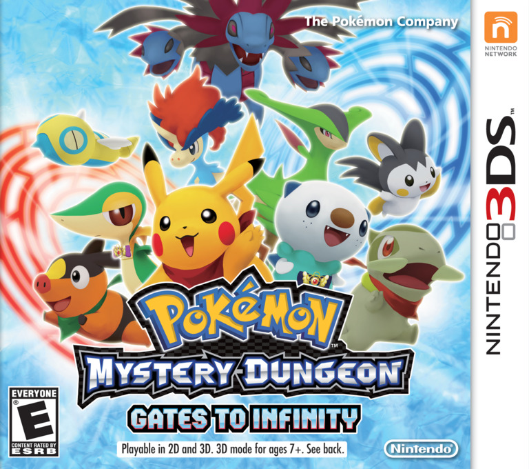 Pokémon Mystery Dungeon - Gates to Infinity 3DS coverHQ (APDE)