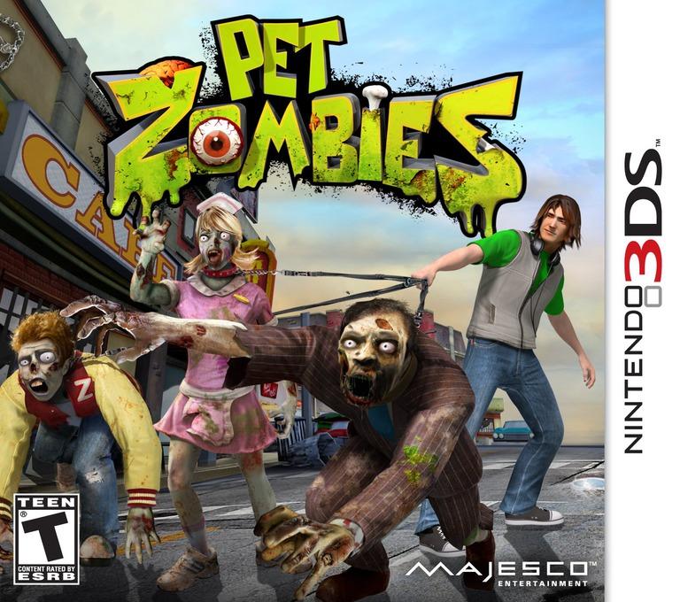 Pet Zombies 3DS coverHQ (APZE)