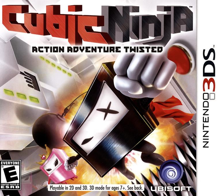 Cubic Ninja 3DS coverHQ (AQNE)
