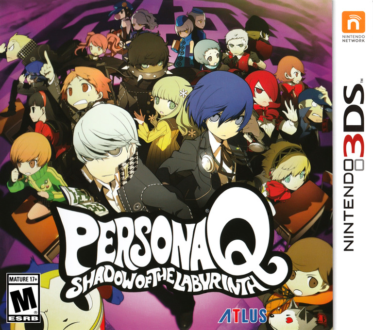Persona Q - Shadow of the Labyrinth 3DS coverHQ (AQQE)