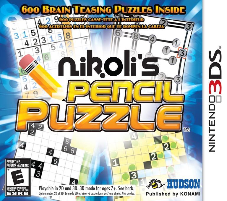 Nikoli's Pencil Puzzle 3DS coverHQ (AS9E)
