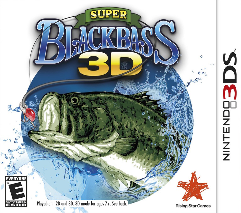 Super Black Bass 3D 3DS coverHQ (ASBE)