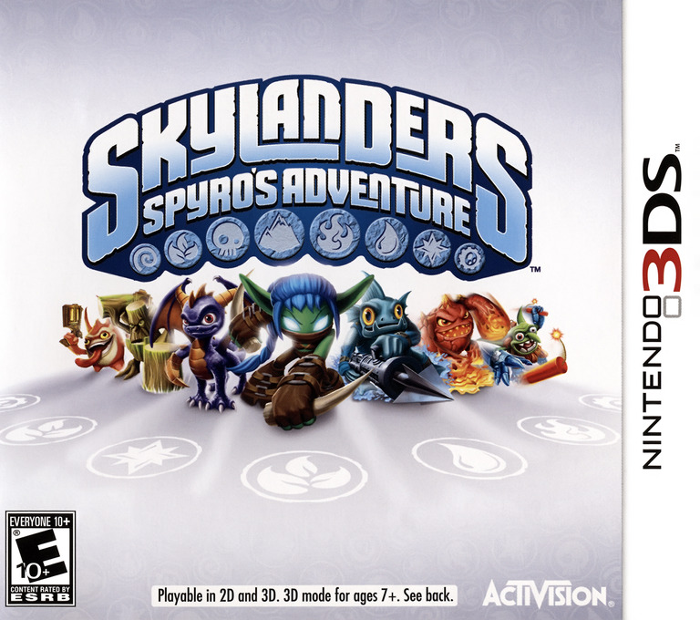 Skylanders - Spyro's Adventure 3DS coverHQ (ASPE)