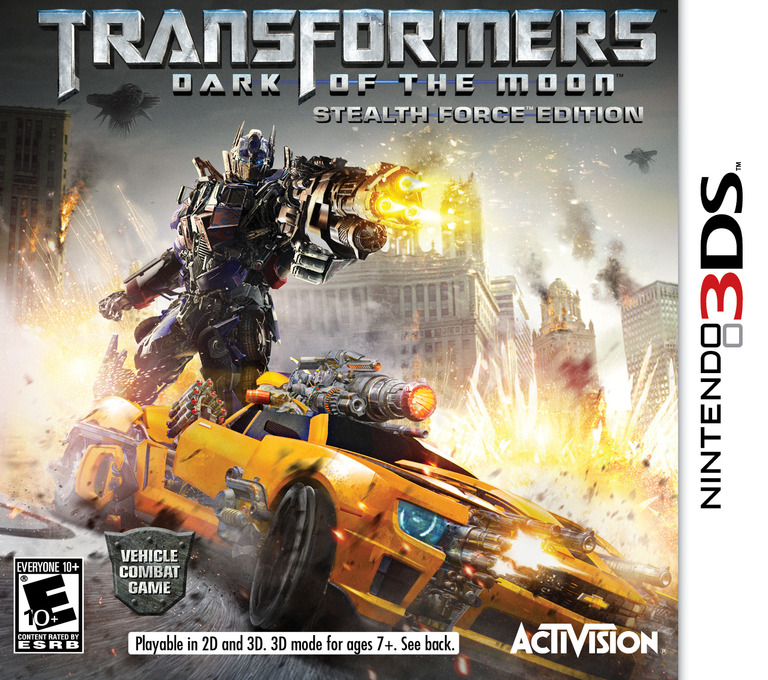 Transformers - Dark of the Moon - Stealth Force Edition 3DS coverHQ (ATFE)
