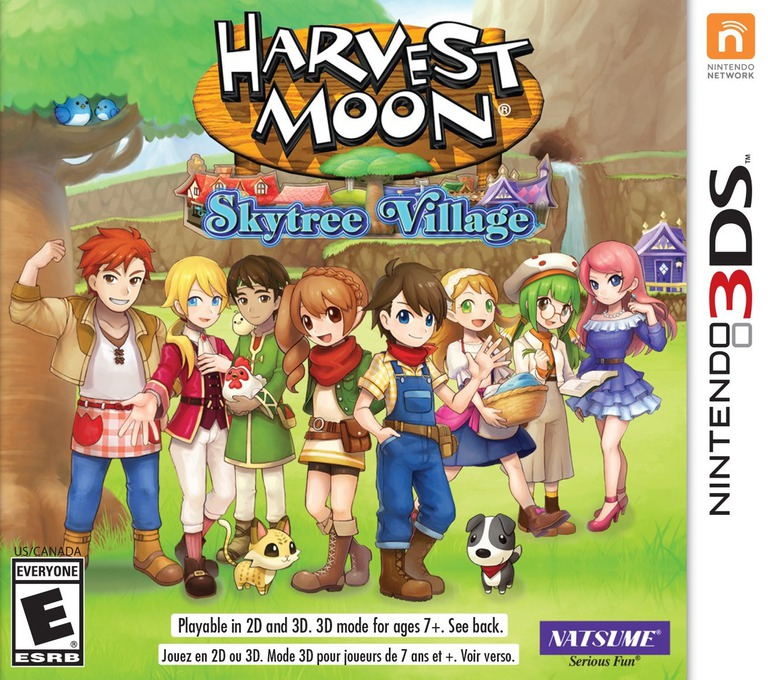 Harvest Moon: Skytree Village 3DS coverHQ (AVAE)