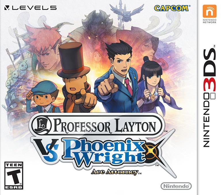 Professor Layton vs. Phoenix Wright - Ace Attorney 3DS coverHQ (AVSE)