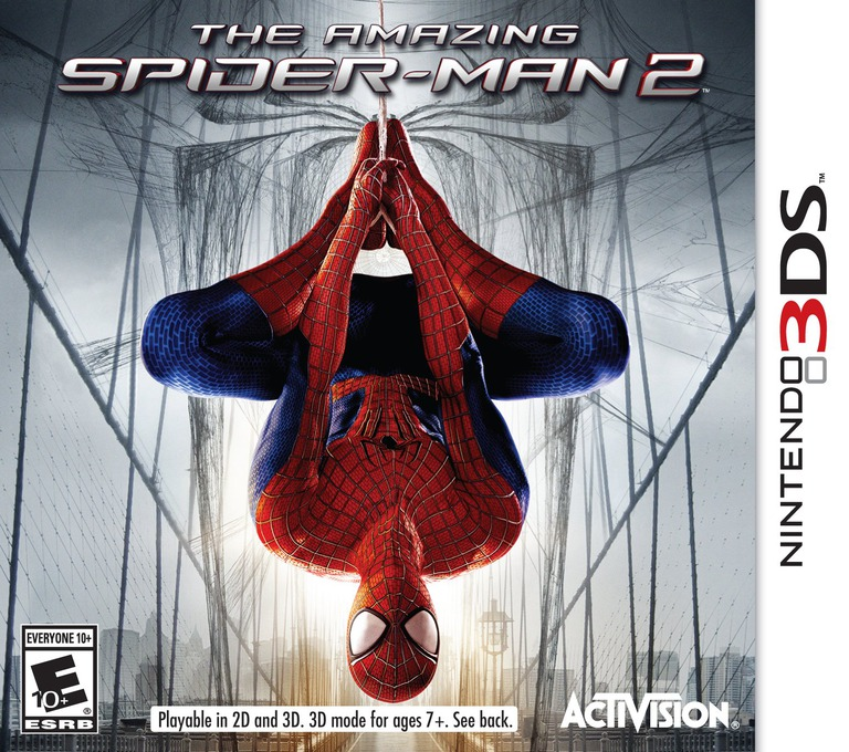 The Amazing Spider-Man 2 3DS coverHQ (AXYE)