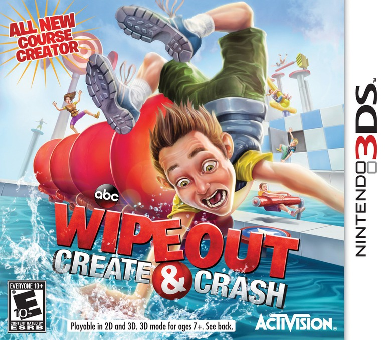 Wipeout - Create and Crash 3DS coverHQ (AY8E)