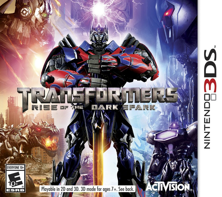 Transformers - Rise of the Dark Spark 3DS coverHQ (AYEE)