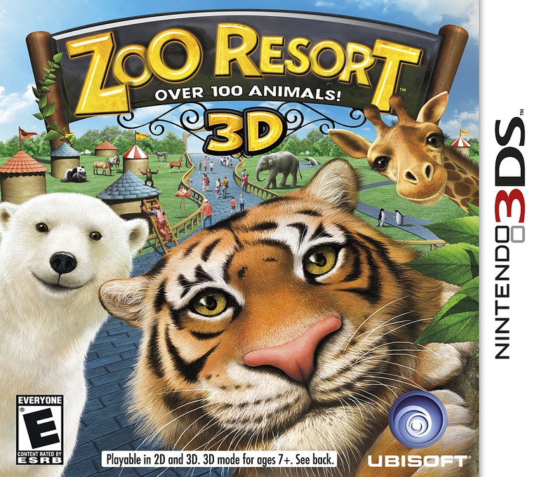 Zoo Resort 3D 3DS coverHQ (AZOE)