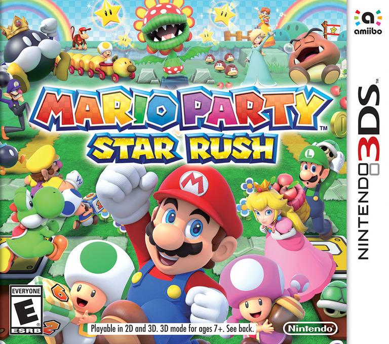 Mario Party: Star Rush 3DS coverHQ (BAAE)