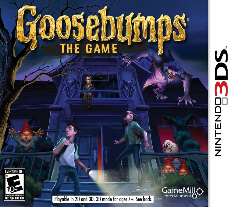 Goosebumps - The Game 3DS coverHQ (BBME)